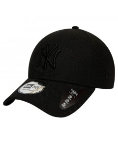 New York Yankees New Era 9FORTY Diamond Era Mono Black kapa