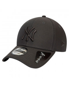 New York Yankees New Era 9FORTY Diamond Era Mono Grey kapa