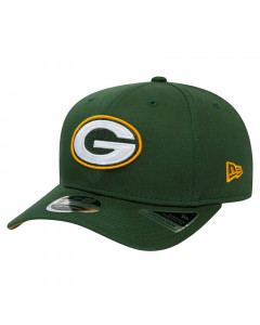 Green Bay Packers New Era 9FIFTY Team Stretch kapa
