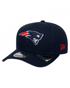 New England Patriots New Era 9FIFTY Team Stretch kapa