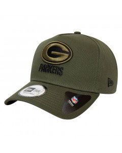 Green Bay Packers New Era 9FORTY A-Frame Closed Back Mütze