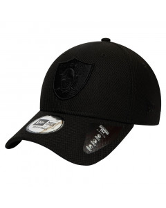 Las Vegas Raiders New Era 9FORTY Diamond Era Mono Black kapa