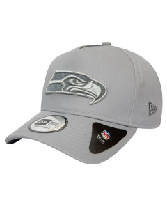 Seattle Seahawks New Era 9FORTY A-Frame Closed Back Mütze