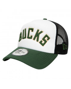 Milwaukee Bucks New Era Trucker A-Frame Colour Block kapa
