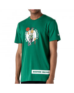 Boston Celtics New Era Block Wordmark T-Shirt