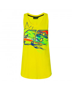 Valentino Rossi VR46 Winter Test Tank Top Damen T-Shirt