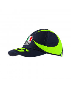 Valentino Rossi VR46 Sun and Moon Helmet otroška kapa