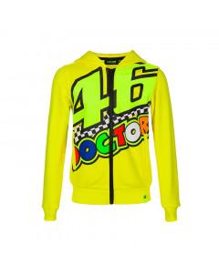 Valentino Rossi VR46 The Doctor Kinder Kapuzenjacke