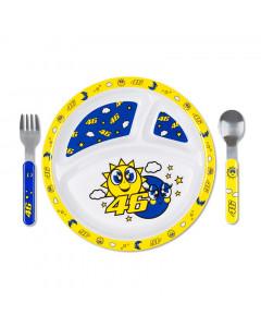 Valentino Rossi VR46 Sun and Moon jedilni set