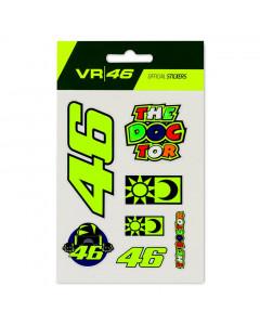 Valentino Rossi VR46 Big Set Aufkleber