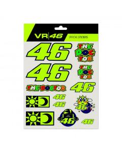 Valentino Rossi VR46 Small set nalepke