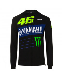Valentino Rossi VR46 Yamaha Monster Power Line Kapuzenjacke