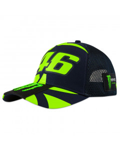 Valentino Rossi VR46 Monster Replica Trucker kapa