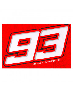 Marc Marquez MM93 Big Number Fahne Flagge 140x90 cm
