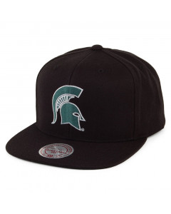 Michigan State Spartans Mitchell & Ness Core Wool Solid Mütze