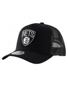 Brooklyn Nets Mitchell & Ness Trucker Team Logo Classic Mütze