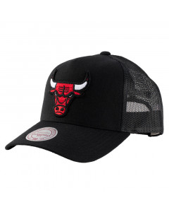 Chicago Bulls Mitchell & Ness Trucker Team Logo Classic Mütze