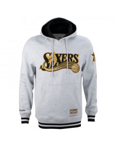 Philadelphia 76ers Mitchell & Ness CNY pulover s kapuco
