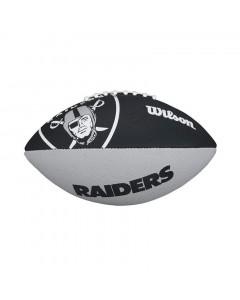 Las Vegas Raiders Wilson Team Logo Junior Ball für American Football
