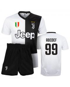 Juventus Replika Kinder Training Komplet Trikot (Druck nach Wahl +12,30€)