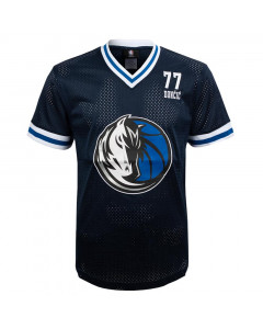 Luka Dončić 77 Dallas Mavericks Play Maker Fashion Top Mesh T-Shirt