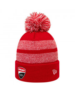 Ducati Corse New Era Stripe Bobble Knit zimska kapa
