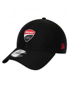 Ducati Corse New Era 39THIRTY Sport Black Mütze