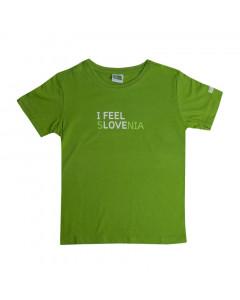 IFS otroška majica zelena