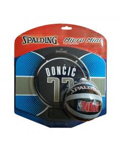 Luka Dončić 77 Spalding Mini Basketballkorb fürs Zimmer