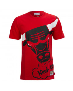 Chicago Bulls Mitchell & Ness Big Face majica