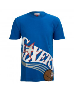 Philadelphia 76ers Mitchell & Ness Big Face T-Shirt