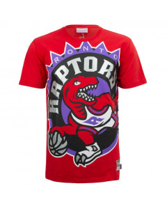 Toronto Raptors Mitchell & Ness Big Face majica
