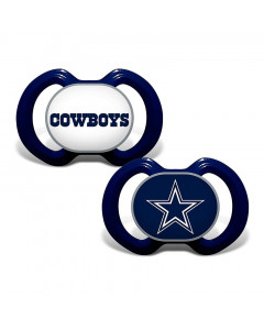 Dallas Cowboys Baby Fanatic 2x Schnuller