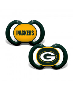 Green Bay Packers Baby Fanatic 2x Schnuller