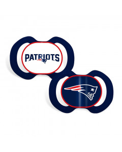 New England Patriots Baby Fanatic 2x Schnuller