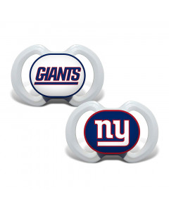 New York Giants Baby Fanatic 2x Schnuller