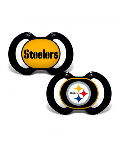Pittsburgh Steelers Baby Fanatic 2x Schnuller