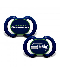 Seattle Seahawks Baby Fanatic 2x Schnuller