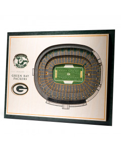 Green Bay Packers 3D Stadium View Bild