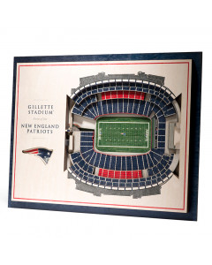 New England Patriots 3D Stadium View Bild