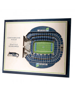 Seattle Seahawks 3D Stadium View Bild