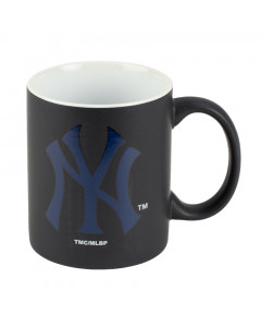 New York Yankees Black Matte Two Tone skodelica