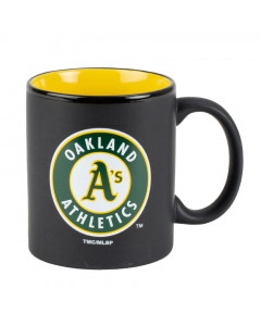 Oakland Athletics Black Matte Two Tone Tasse