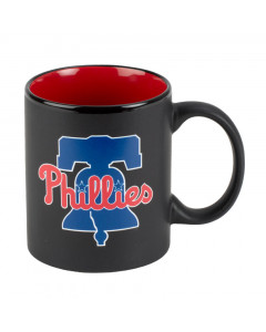 Philadelphia Phillies Black Matte Two Tone Tasse