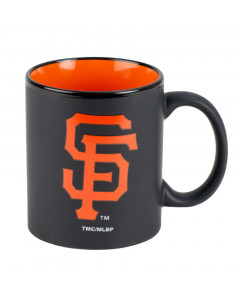 San Francisco Giants Black Matte Two Tone skodelica