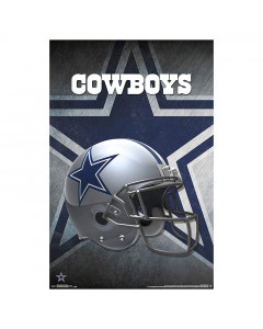 Dallas Cowboys Team Helmet poster
