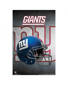 New York Giants Team Helmet Poster