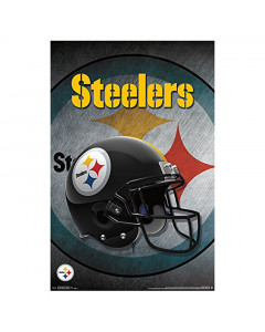 Pittsburgh Steelers Team Helmet Poster