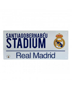 Real Madrid Street Sign tabla