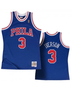 Allen Iverson 3 Philadelphia 76ers 1996-97 Mitchell & Ness Alternate Swingman dres